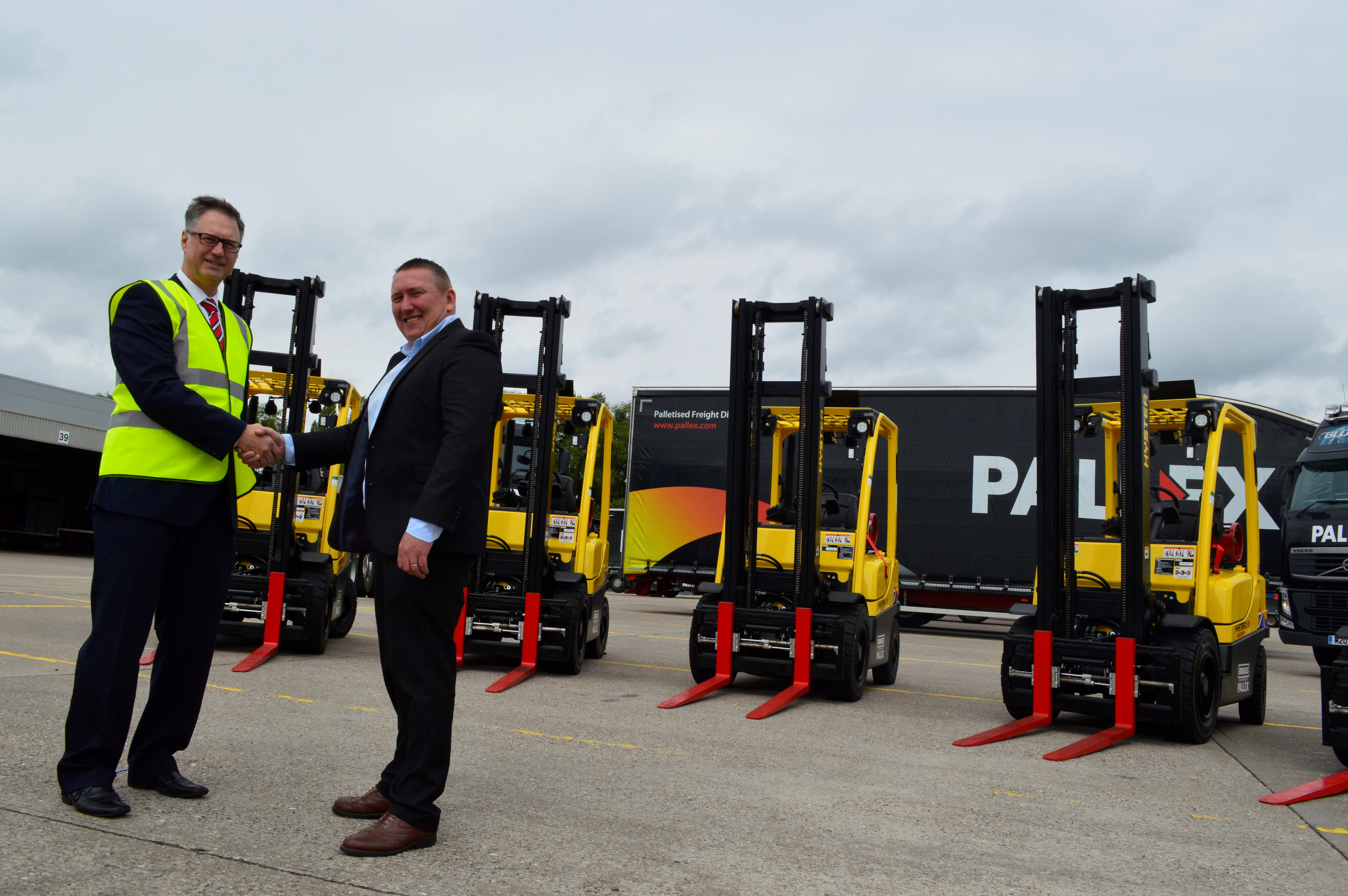 Richard Southern, general manager at Pall-Ex with Briggs Transport.JPG