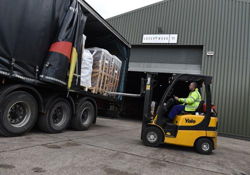 The pallet network fuelling demand for wood pellets